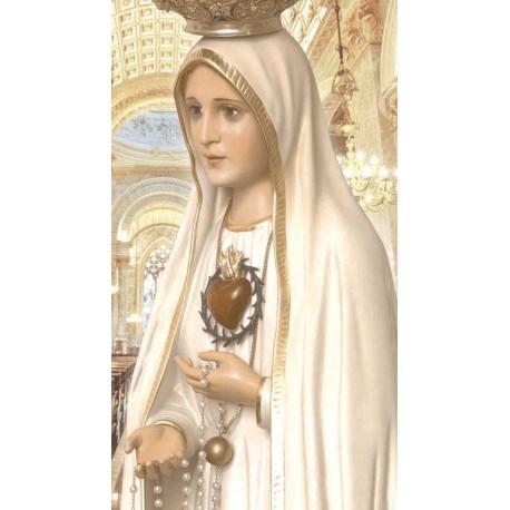 Nossa Senhora De Fátima - Piso/azulejo De Cerâmica 32cm x 57cm - INCOPISOS 60100
