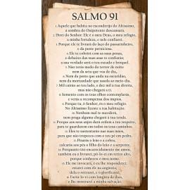 Salmo 91 - Piso/azulejo De Cerâmica 32cm x 57cm - INCOPISOS 60094