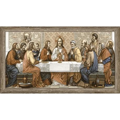 Piso/azulejo De Cerâmica Santa Ceia Para Parede 57 X 32 Cm