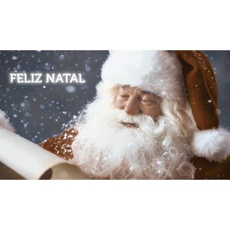 Papai Noel Piso/Revestimento 32cmx57cm - LORENZZA 8039- 1pç