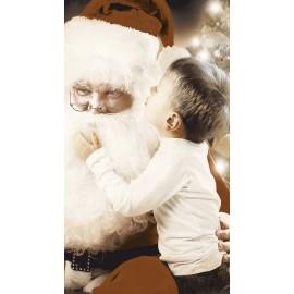 Papai Noel e Crianças Piso/Revestimento 32cmx57cm - LORENZZA 8040- 1pç