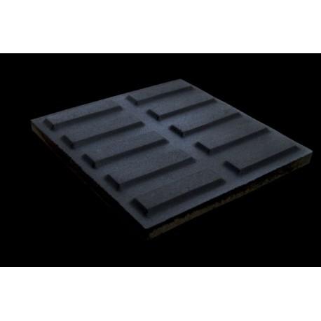 LADRILHO HIDRAULICO CIMARTEX Rampa Filete Cinza 20cmX20cm Amarrado com 0,40m²