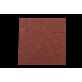 LADRILHO HIDRAULICO CIMARTEX Romano Vermelho 32cmX32cm Amarrado com 0,51m²
