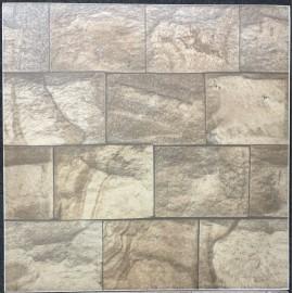 PISO NARDINI 45530 - Pietra Granito Rustico 45cmX45cm Caixa com 2,57m²