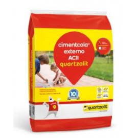Argamassa cimentcola uso externo QUARTZOLIT ACII 20kg